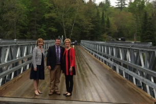 Province gives 1M for Bridge